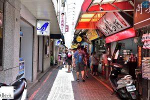 Tamsui Old Street,淡水老街小吃巷((攝影/Jin-Liang, Lin)。