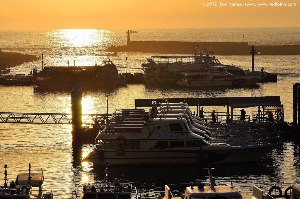Tamsui_Sunset_gloden_harbour_Fisherman_Wharf_淡水日落夕陽_漁人碼頭