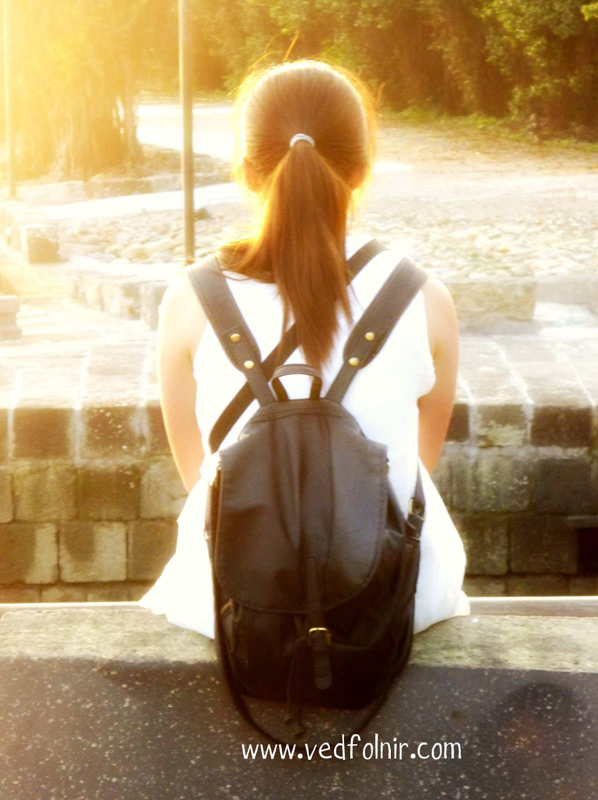淡水遊記/在河岸邊遇見的陽光女孩 sunny girl at tamsui riversidr 1